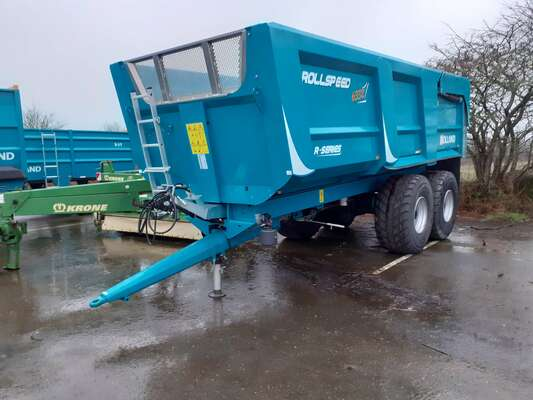 Cereal tipping trailer Rolland Remorque benne monocoque ROLLSPEED RS 6332 RS6332 - 1