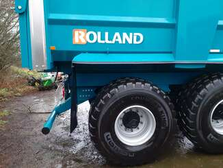 Cereal tipping trailer Rolland Remorque benne monocoque ROLLSPEED RS 6332 RS6332 - 2