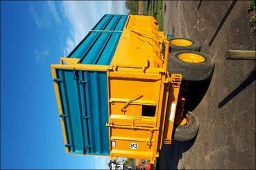 Cereal tipping trailer Rolland Turbo 12 - 1