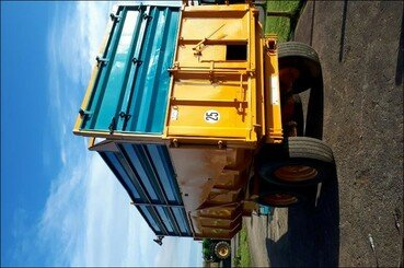 Cereal tipping trailer Rolland Turbo 12 - 2