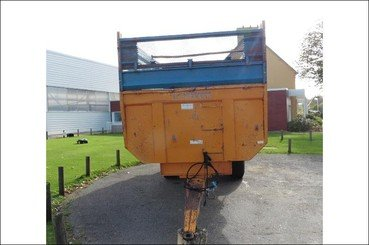Cereal tipping trailer Rolland Turbo 12 - 4