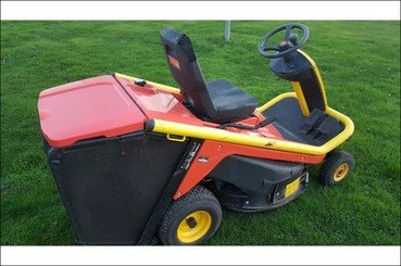 Lawn tractor Wolf A80b - 3