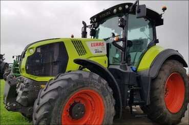 Farm tractors Claas Axion 810 cmatic - 11