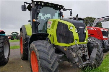 Farm tractors Claas Axion 810 cmatic - 12