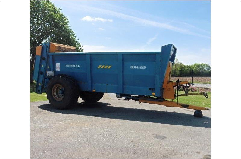 Manure spreader Rolland V2-14 - 1