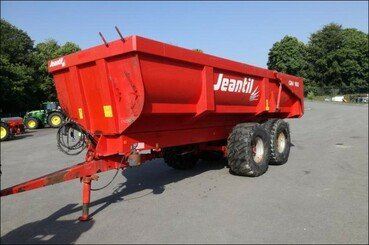 Cereal tipping trailer Jeantil Gm 160 - 1