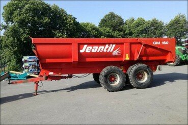Cereal tipping trailer Jeantil Gm 160 - 2