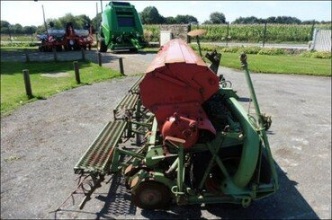 Conventional-till seed drill Nodet Gougis Gc max 4m disque - 1