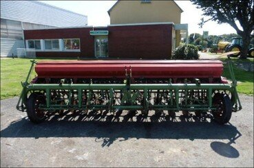 Conventional-till seed drill Nodet Gougis Gc max 4m disque - 2