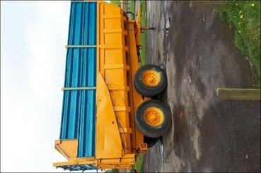 Cereal tipping trailer Rolland Turbo 140 - 2