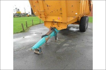 Cereal tipping trailer Rolland Turbo 140 - 4