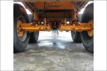 Cereal tipping trailer Rolland Turbo 140 - 5