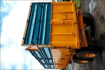 Cereal tipping trailer Rolland Turbo 140 - 6