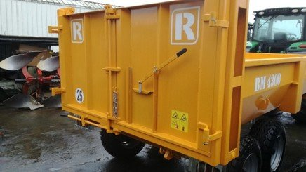 Cereal tipping trailer Rolland BM 4300 - 3