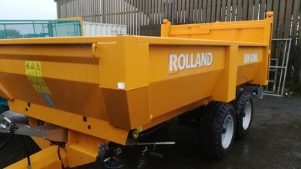 Cereal tipping trailer Rolland BM 4300 - 1